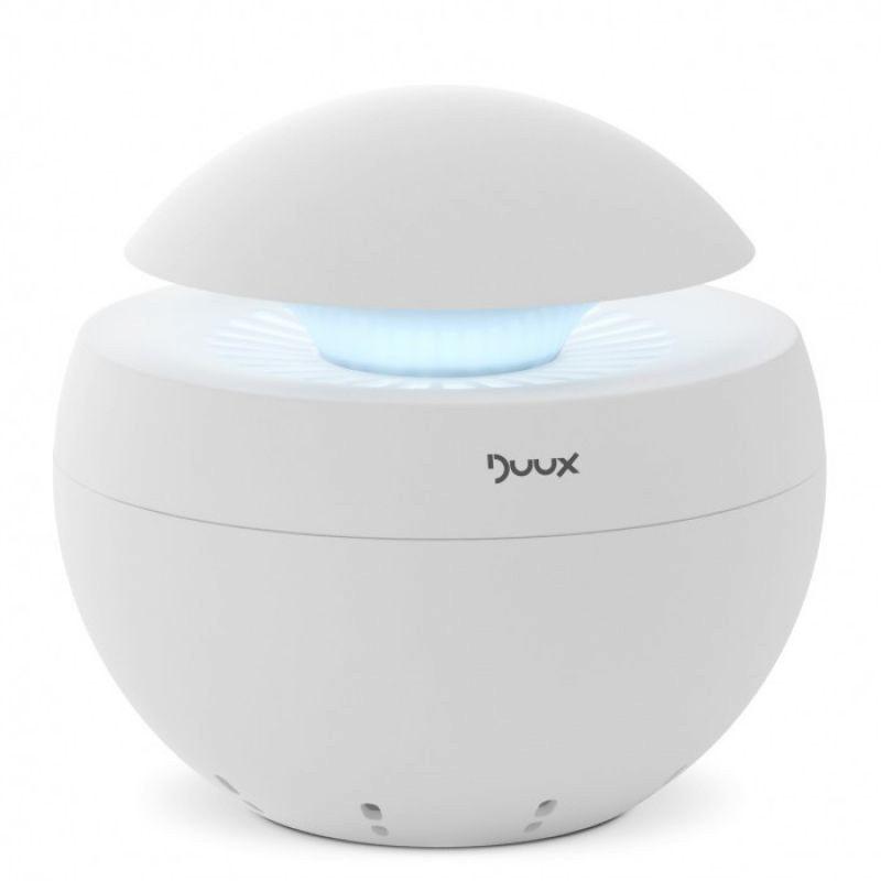 Resigilat! Purificator aer Duux alb, Difuzor aroma, Ionizare, Debit aer 68 mc/ora, Consum 5W/h, Veioza