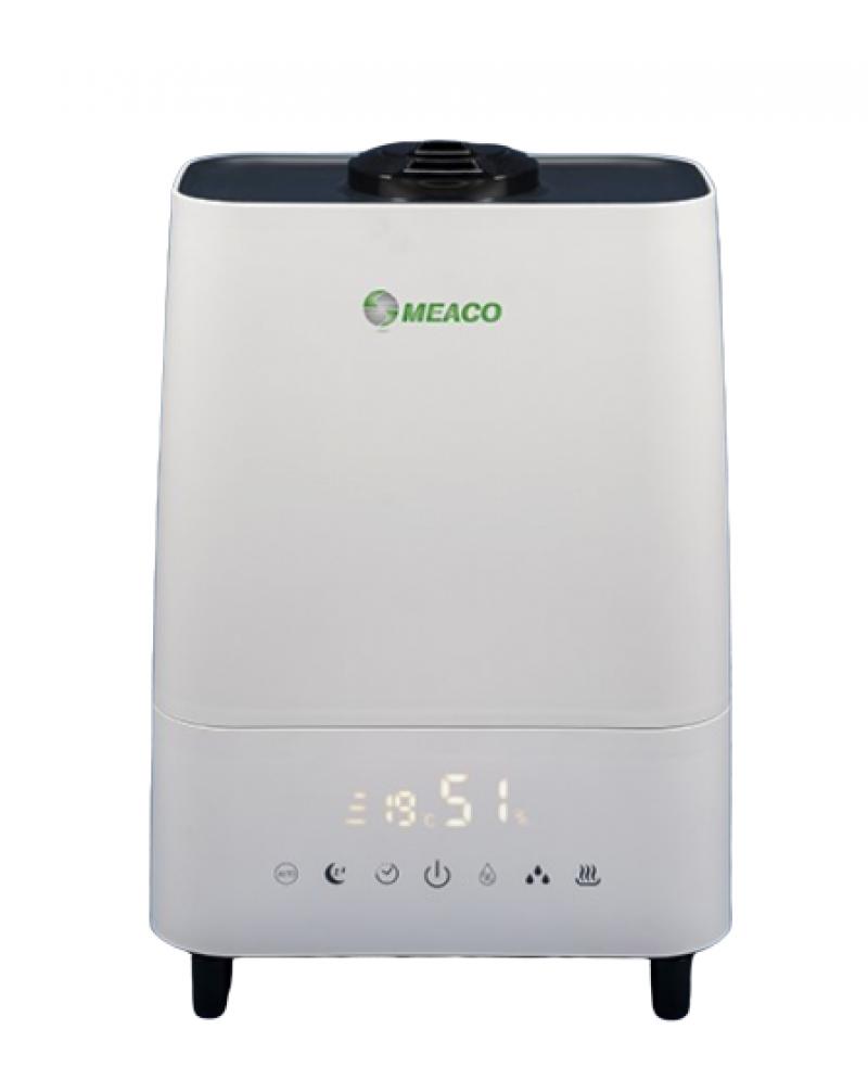 Umidificator si purificator MeacoMIST DELUXE 2020, Filtru HEPA si Carbune, Lampa UV-C, Ionizare, Difuzor aroma, Timer