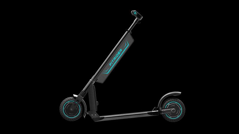 Trotineta electrica Rayeetech Fit Rider T1S, Viteza 23-25 km/h, Motor 350W, Baterie LG 6.4AH, Autonomie 20-25 km