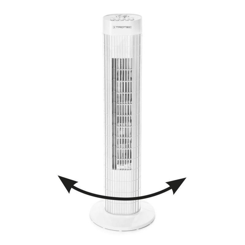 Ventilator turn Trotec TVE 30 T, Debit 1787  m3 / h, Consum 45 W/h, Timer, 3 trepte