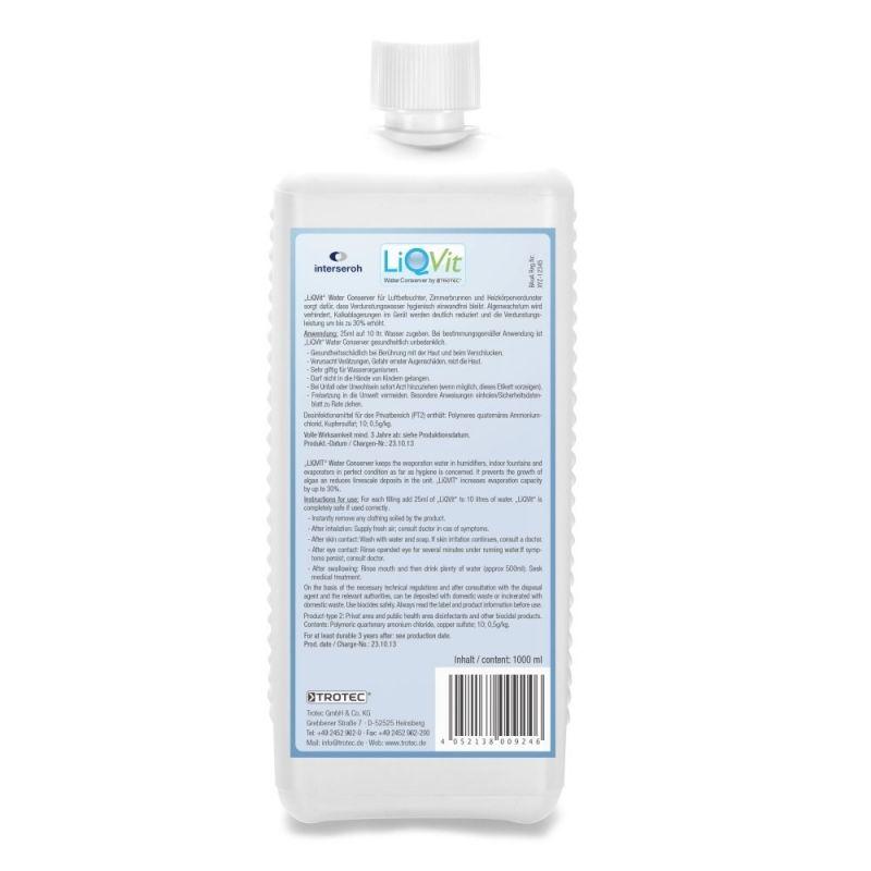 Soluție igienică pentru apă LiQVit 1000ml