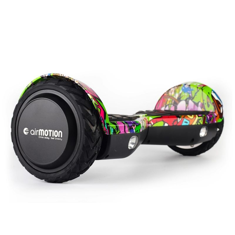 Hoverboard AirMotion H1 Purple Graffiti 6,5 inch