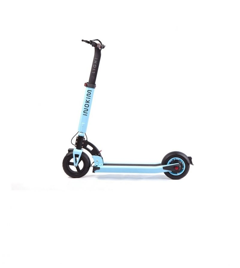 Trotineta electrica Myway Inokim Light Super Blue, Display, Viteza max. 30 km, Putere motor 300W, Litiu – Ion 36V/10.4Ah