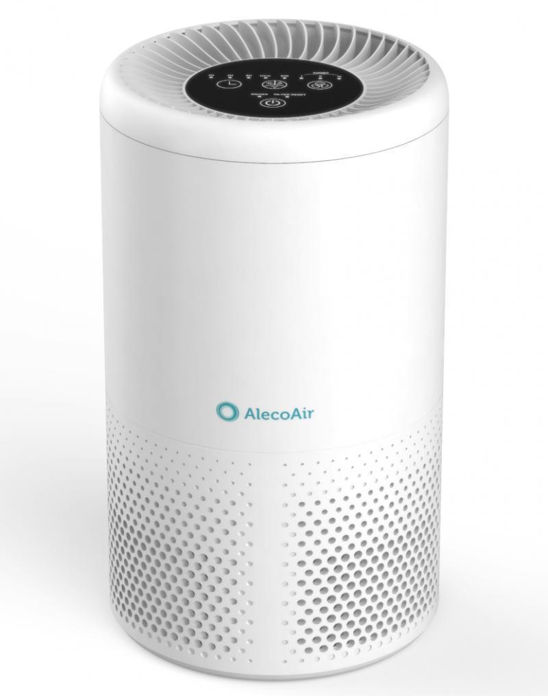 Purificator de aer AlecoAir P15 KIDDO New, Wi-Fi, Lampa UV,-C Filtru HEPA si Carbune Activ, Functie Ionizare