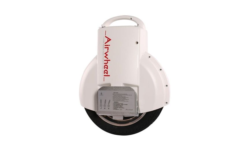 Monociclu electric cu doua roti Airwheel Q3 170Wh White
