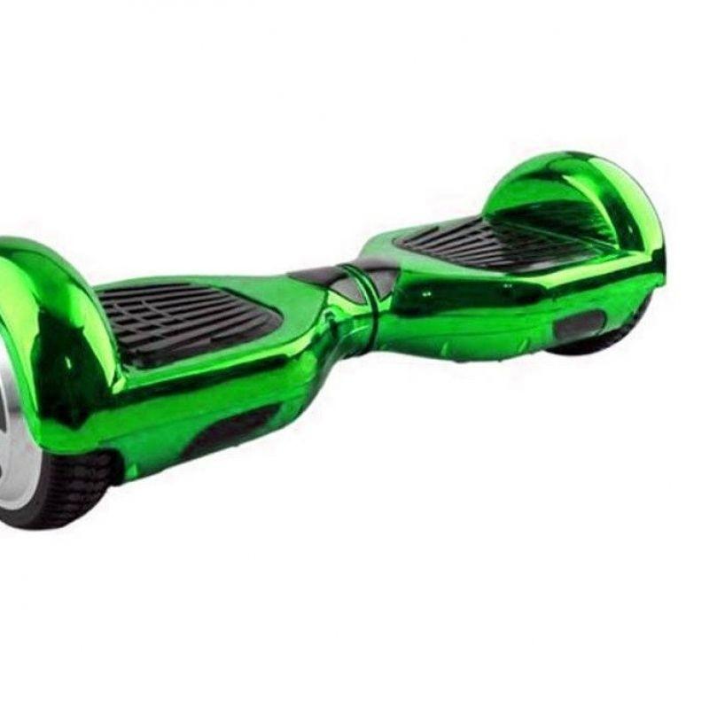 Resigilat! Hoverboard Koowheel S36 Green Chrome 6,5 inch