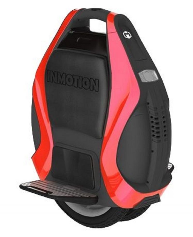 Monociclu electric cu doua roti si conectare prin Bluetooth Inmotion V3PRO Red