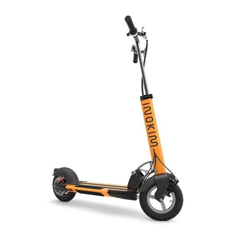 Trotineta electrica Myway Inokim Quick 3 Hero Orange, Display, Viteza max. 25 km/h, Putere motor 450W, Baterie Litiu – Ion 10.4A