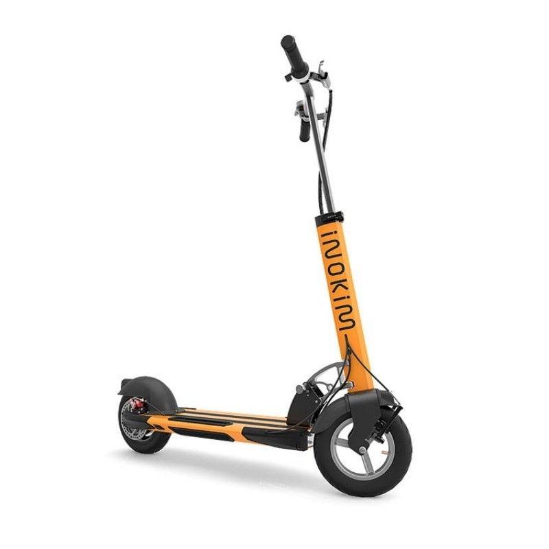 Trotineta electrica Myway Inokim Quick 3 Hero Orange, Display, Viteza max. 25 km/h, Putere motor 450W, Baterie Litiu – Ion 13A