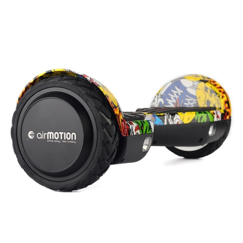 Hoverboard AirMotion H1 Yellow Graffiti 6,5 inch