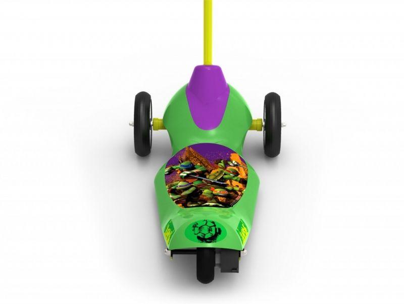 Trotineta electrica pentru copii Pulse Teenage Mutant Ninja Turtles cu 3 roti si Safe Start