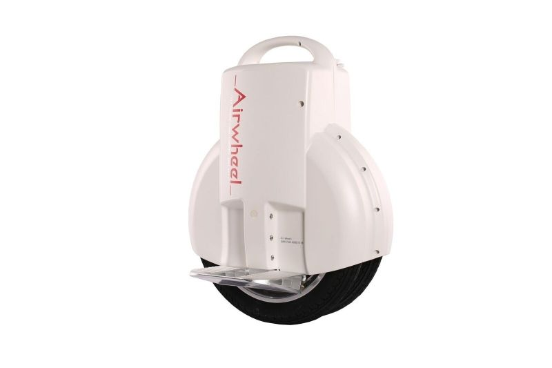 Monociclu electric cu doua roti Airwheel Q3 170Wh White