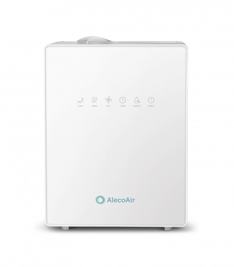 Resigilat! Umidificator cu ultrasunete AlecoAir U30 IONIC, Ionizare, Higrostat, Timer, Telecomanda, Display Digital