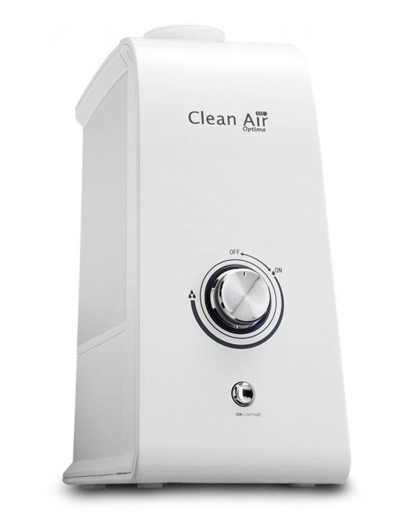 Resigilat! Umidificator si purificator Clean Air Optima CA601, Ionizare, Rata umidificare 300 ml/ora, Consum 30W/h, Pentru 20mp