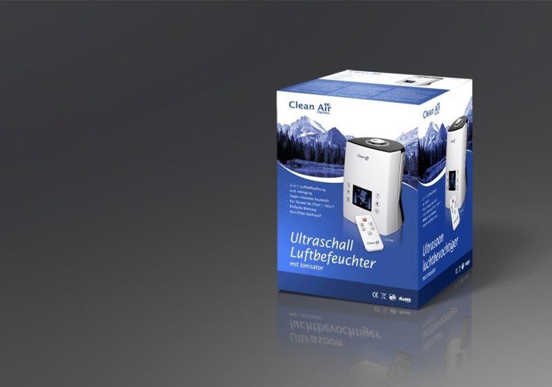 Umidificator si purificator Clean Air Optima CA606