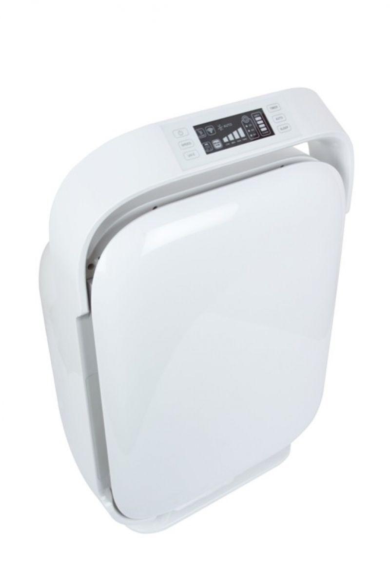 Purificator de aer  MeacoClean CA-HEPA 119x5, Display, Timer, Debit aer 595 mc/ora, Consum 70W/h, Pentru 52mp, Filtrare multipla