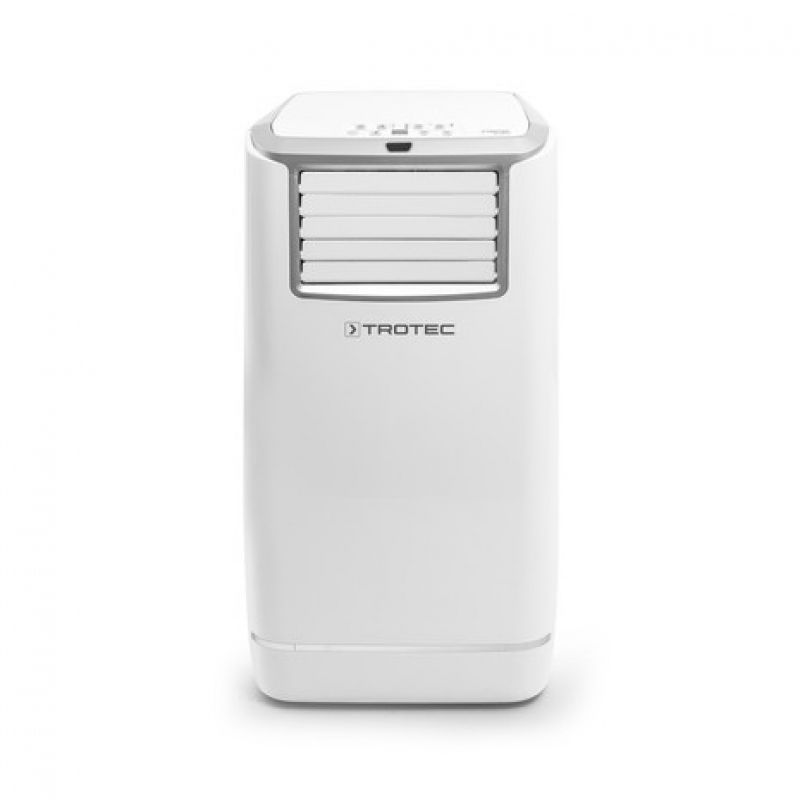 Aer conditionat portabil Trotec PAC 3200 E, Capacitate 11.000 Btu, Debit 500mc/ora, Telecomanda, Display, Timer, Pentru 42mp