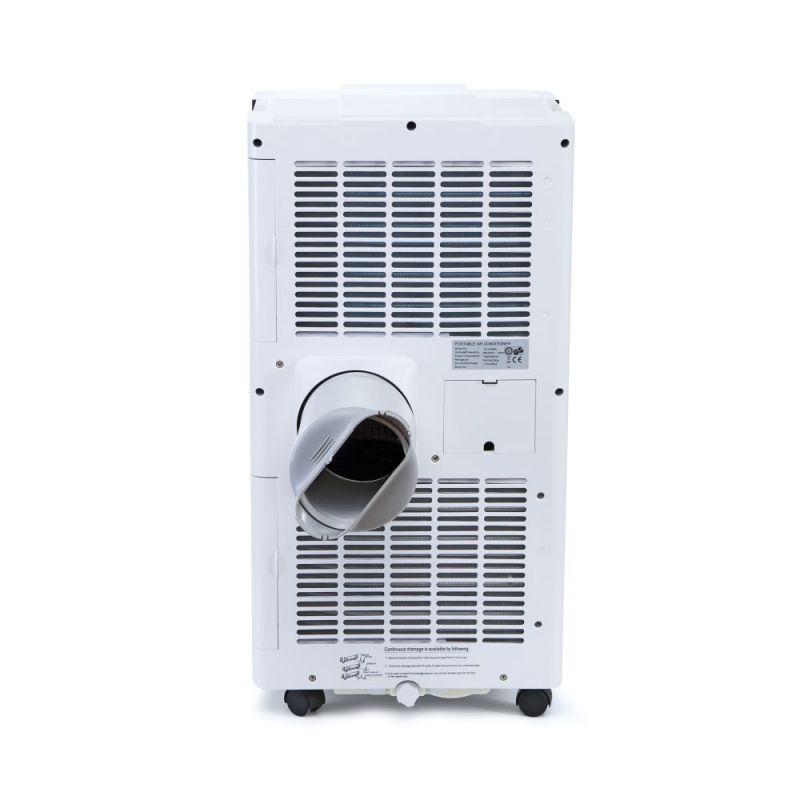 Aer conditionat portabil Trotec PAC 4700 X, Capacitate 16.000 Btu, Debit 550mc/ora, Display, Timer, Pentru 62mp