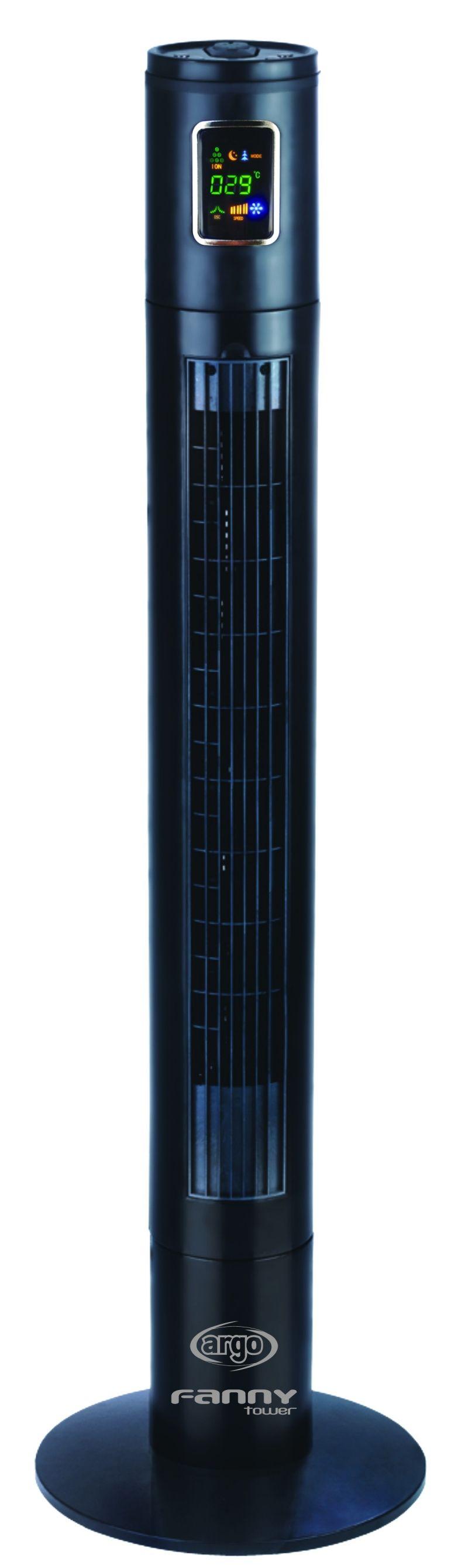 Ventilator Turn Argo Fanny, Debit 616 m3 / h, Consum 45 W/h, Control digital, Timer, Telecomanda, 3 trepte