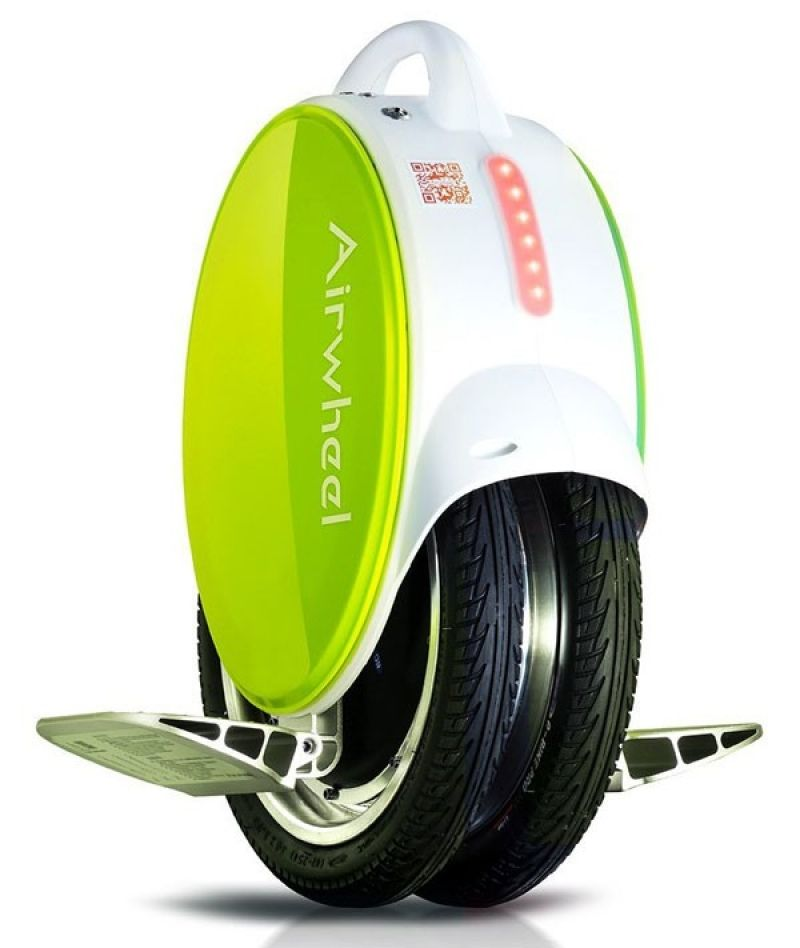 Monociclu electric cu doua roti Airwheel Q5 Green