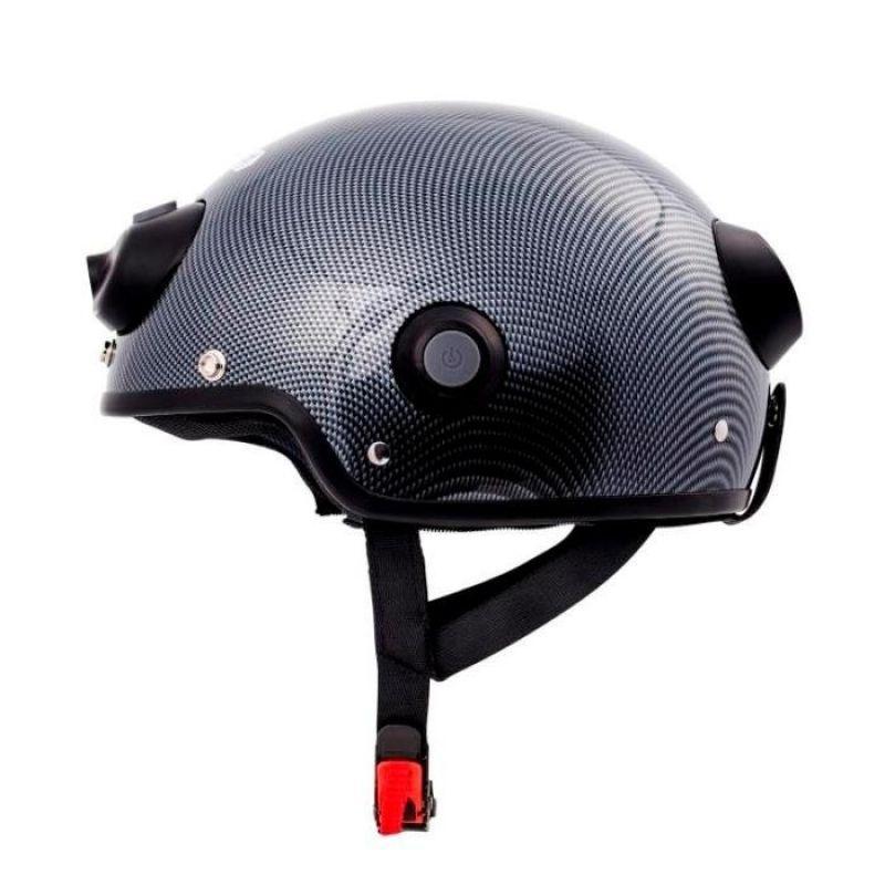 Casca inteligenta Airwheel C6 Carbon, conectare Bluetooth, Wifi, inregistrare video