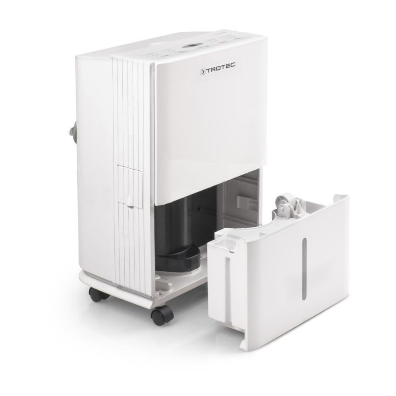 Dezumidificator TTK65E, 20 litri/24h, Debit 180mc/h, Pentru 45mp, Higrostat reglabil, Timer, Display, Functie automata