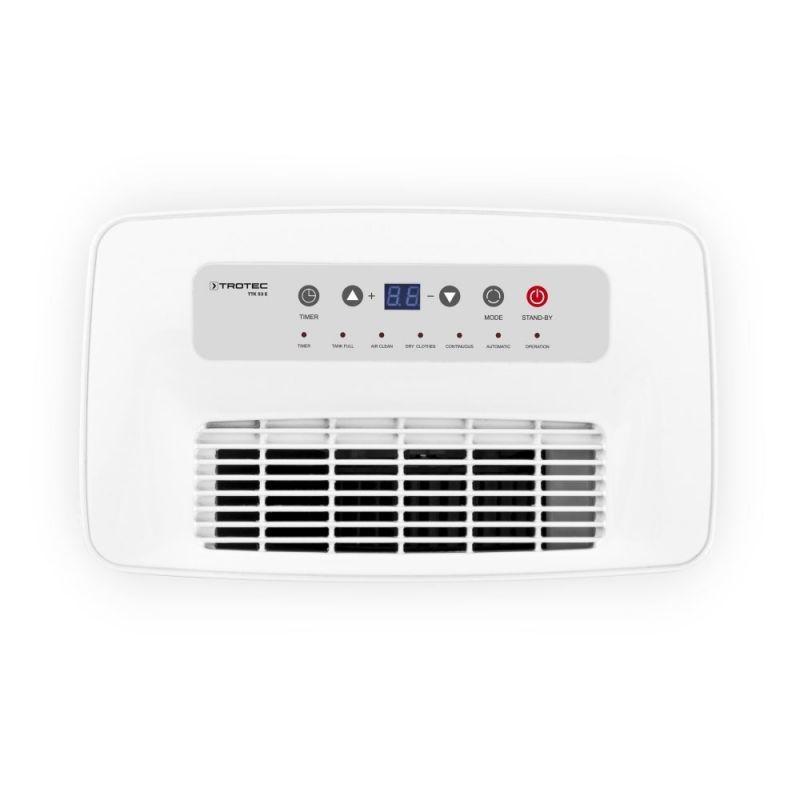 Dezumidificator TTK53E, 16l/zi, Debit 195mc/h, Pentru spatii de pana la 31mp, Display, Timer, Higrostat, Uscare haine
