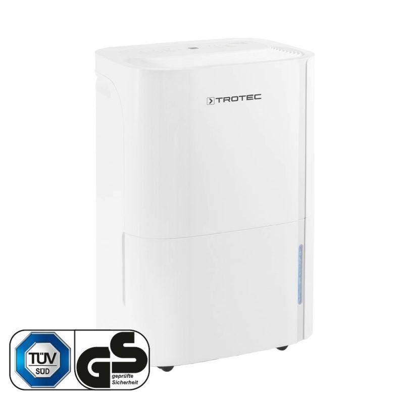 Dezumidificator Trotec TTK66E, 24l /24h, Functie uscare rufe, Debit 170 mc/h, Pentru 50mp, Higrostat integrat