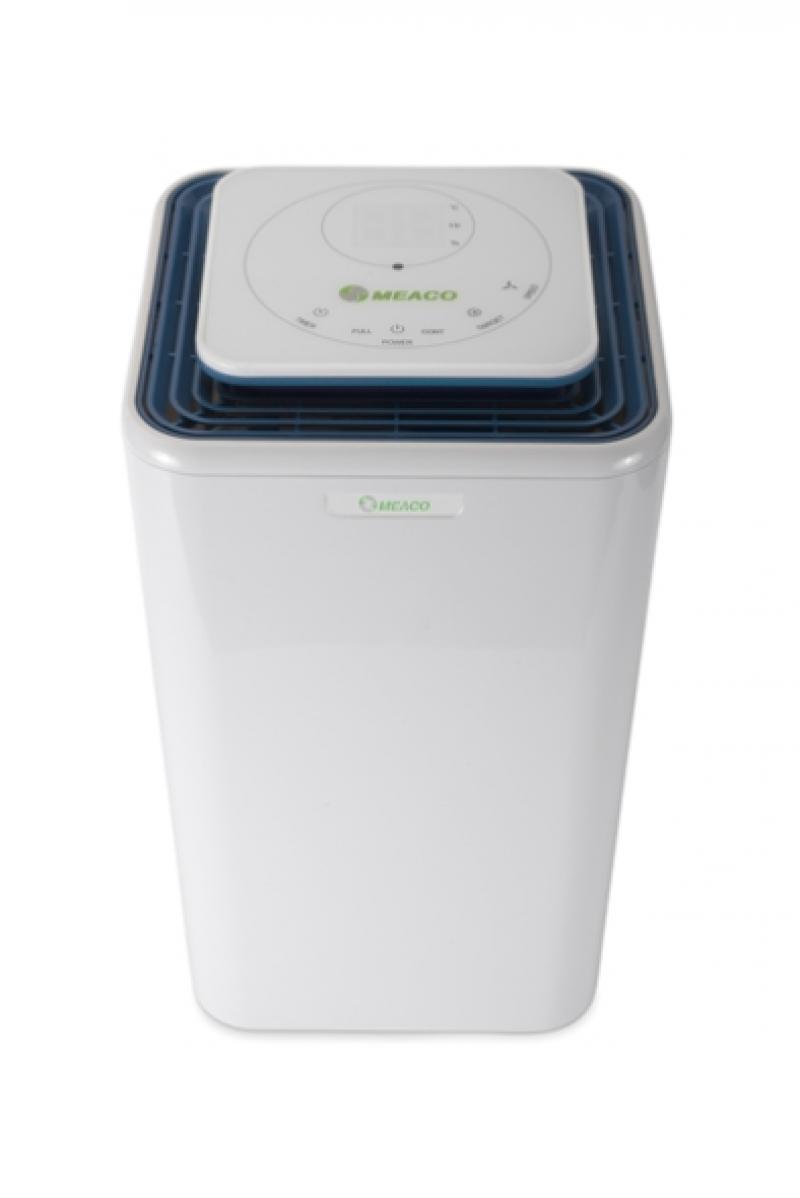 Dezumidificator  Meaco 12L-AH, 12l/zi, Debit 120mc/h, Pentru spatii de pana la 30mp, Higrostat reglabil, Timer, Display