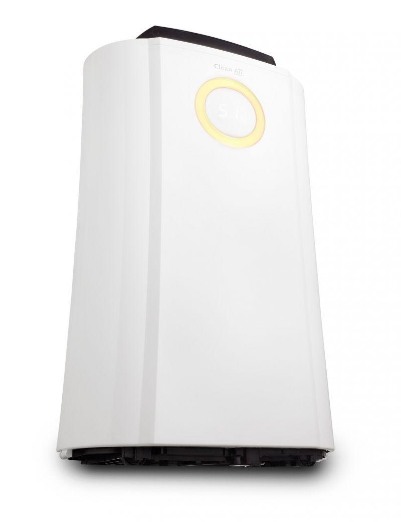 Dezumidificator si Purificator de Aer CA704, 10l/zi, Pentru spatii de pana la 40mp, Display, Timer, Higrostat, Uscare rapida
