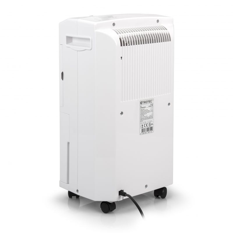 Dezumidificator Trotec TTK50E, 16l/zi, Debit 120mc/h, Pentru spatii de pana la 30mp, Higrostat