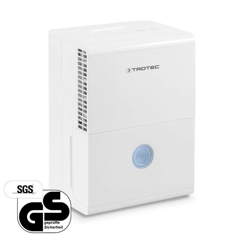Dezumidificator Trotec TTK28E, 10l/zi, Debit 100mc/h, Pentru spatii de pana la 15mp, Higrostat reglabil, Functie auto-restart