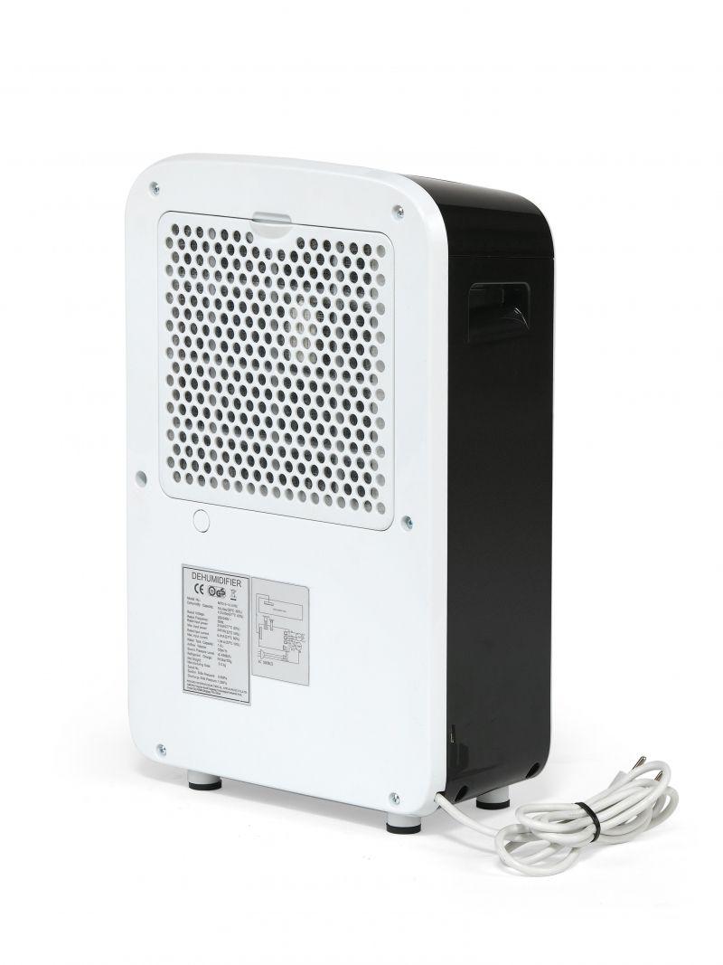 Dezumidificator TTK31E, 12l/zi, Debit 120mc/h, Pentru spatii de pana la 15mp, Display, Timer, Higrostat reglabil, Uscare rapida