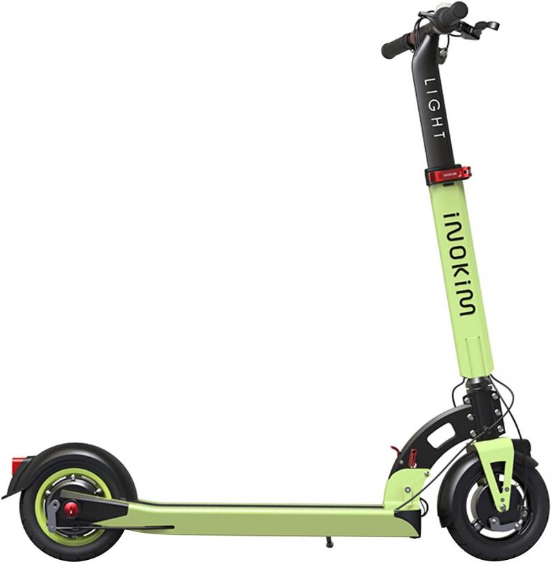 Trotineta electrica Myway Inokim Light 2 Super Green, Display, Viteza max. 25 km/h, Putere motor 350W, Baterie Li-Ion 36V/10.4A