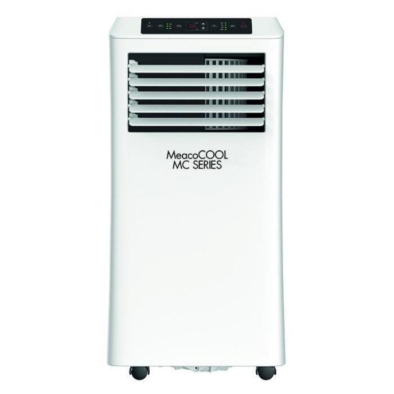 Aer conditionat portabil MeacoCOOL MC7000 Portabil, Capacitate 7.000 Btu, Debit 300mc/ora, Telecomanda, Display, Timer, Pentru 2