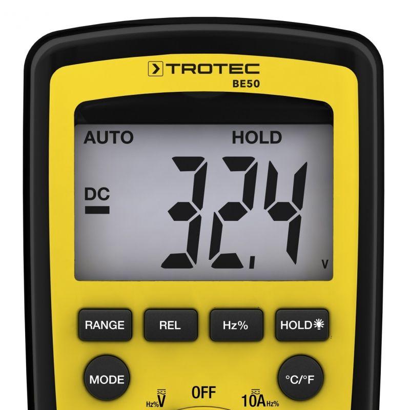 Multimetru digital Trotec BE50