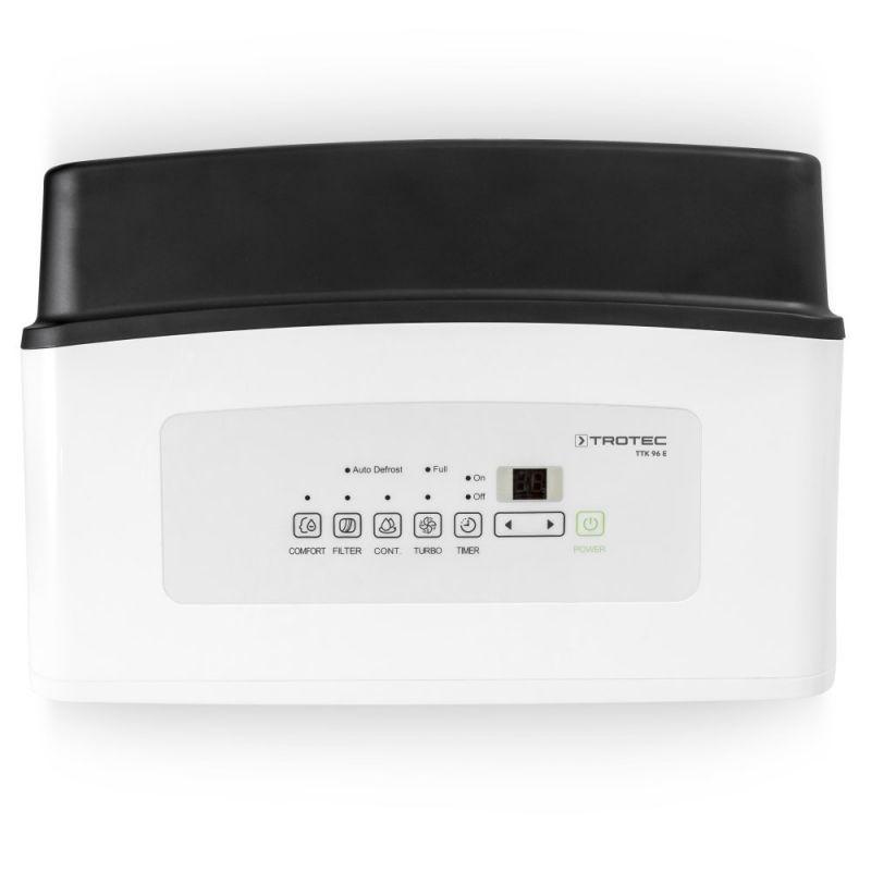 Dezumidificator Trotec TTK96E, 30l/zi, Debit 210mc/h, Pentru spatii de pana la 90mp, Timer, Higrostat, Functie confort