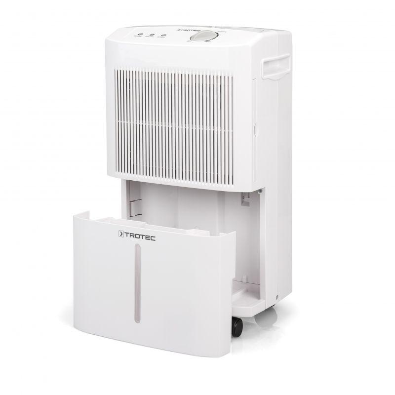 Dezumidificator TTK50E, 16l/zi, Debit 120mc/h, Pentru spatii de pana la 30mp, Higrostat, Uscare rapida