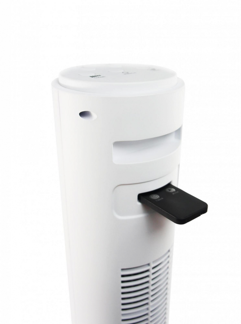 Ventilator turn Air Naturel Fantasy White, Telecomanda, Timer, Control digital, Consum 28-30-35 W/h, Pentru 20mp