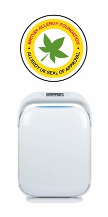Purificator de aer  MeacoClean CA-HEPA 119x5, Display, Timer, Carbune activ, Ionizare, Lampa UV, Pentru 52mp