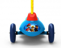 Resigilat! Trotineta electrica pentru copii Pulse Paw Patrol cu 3 roti si Safe Start Viteza 2 5km/ora Putere motor 6W