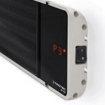 Radiator obscur IRD 3200 cu 3 trepte de incalzire pana la 3200 W, display LED, telecomanda