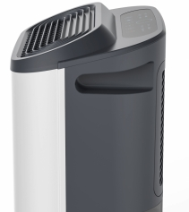 Dezumidificator si purificator cu consum redus de energie AlecoAir D22 PURIFY, 22 l /24h, HEPA, Uscare Rufe, Display digital