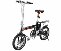 Imagine Bicicleta Electrica Pliabila Airwheel R5 Black Viteza Max. 20kmh