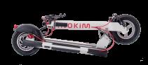 Trotineta electrica Myway Inokim Quick 3 Super White, Display, Viteza max. 25 km/h, Putere motor 450W, Baterie Li-Ion 48V/13Ah