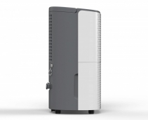 Resigilat! Dezumidificator AlecoAir D12 HOME,12 l /24h, Uscare Rufe, Display digital, Higrostat, Timer, Debit 120 mc/h