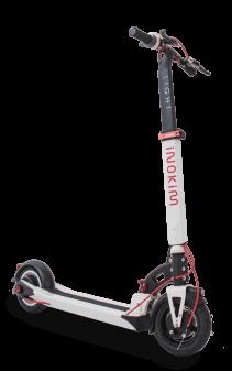 Trotineta electrica Myway Inokim Light 2 Hero White, Display, Viteza max. 25 km/h, Putere motor 350W, Baterie Li-Ion 36V/7.8Ah