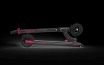 Trotineta electrica Myway Inokim Mini 2 Black, Viteza max. 25 km/h, Putere motor 250W, Baterie Li-Ion 36V/7.8 Ah