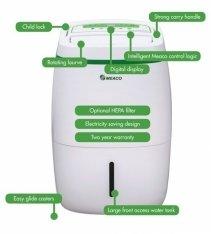 Dezumidificator cu consum redus de energie Meaco UK20L, 160 mc/ h, Pentru 55mp, Higrostat, Timer, Blocare copii
