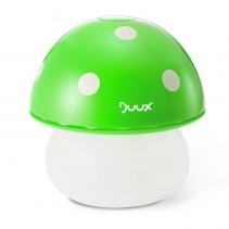 Resigilat! Umidificator Duux Mushroom Verde, Rata umidificare 220 ml/ora, Consum 20W/h, Debit aer 30 mc/h, Veioza